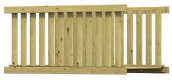 Most drewniany