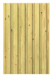 Ściana drewniana pełna